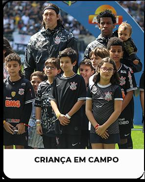 Criança em campo – Arena Corinthians