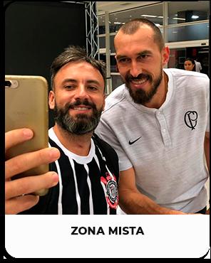 Zona Mista - Corinthians